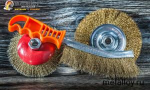 Принципы выбора и эксплуатации щетки по металлу