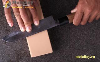 Как правильно заточить нож до бритвенной остроты?