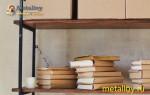 Способы изготовления мебели из металла и дерева своими руками