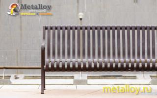 Как изготовить скамейку из металла своими руками