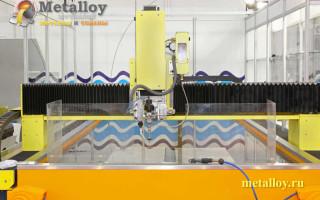 Разновидности и принцип работы гидроабразивных станков