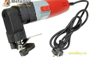 Разновидности электрических ножниц по металлу