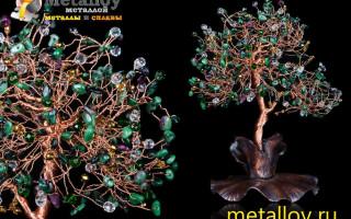 Изготовление деревьев из металла своими руками