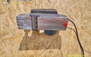 Как самостоятельно провести заточку ножей для электрорубанка