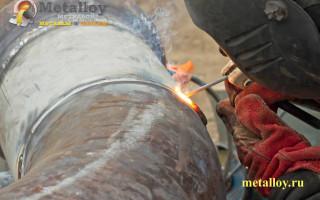 Как провести сварку нержавейки с черным металлом?
