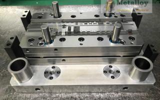 Технология вырубки металла штампом
