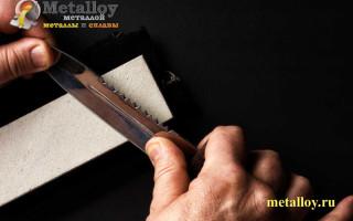 Принципы определения угла заточки охотничьего ножа