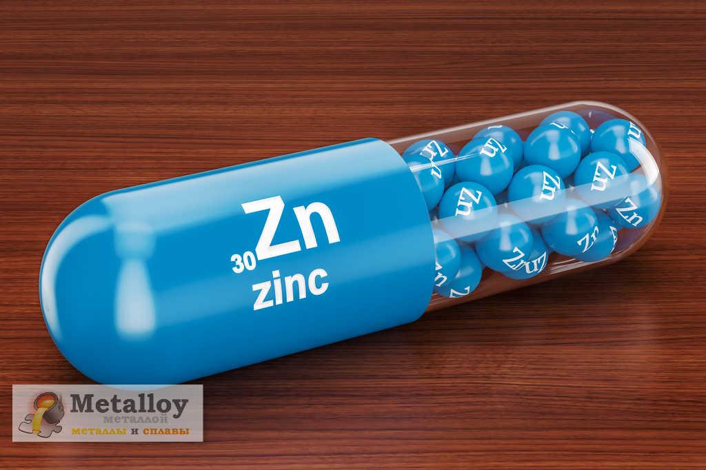 Применение цинка в медицине