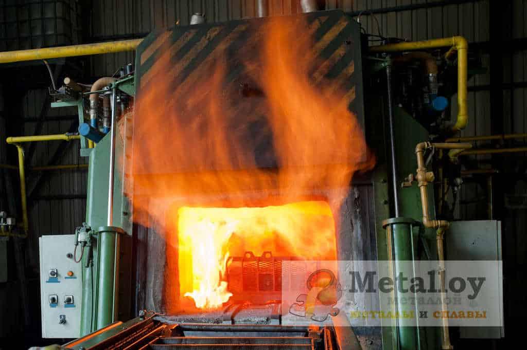 Печь для закалки металла