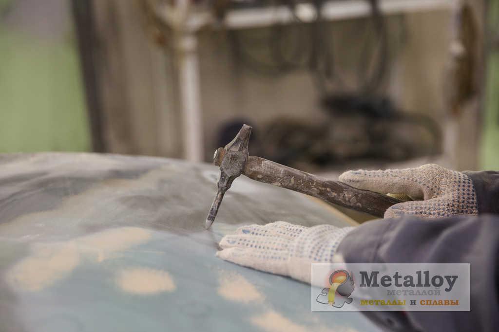Правка металлического элемента