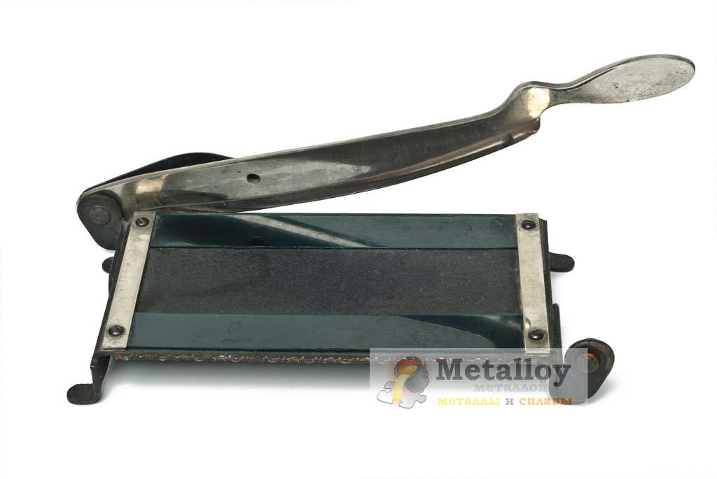 Самодельная гильотина для резки металла