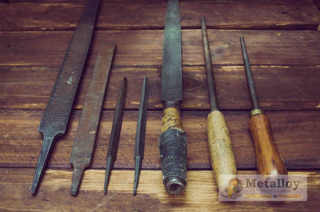 Формы напильников по металлу