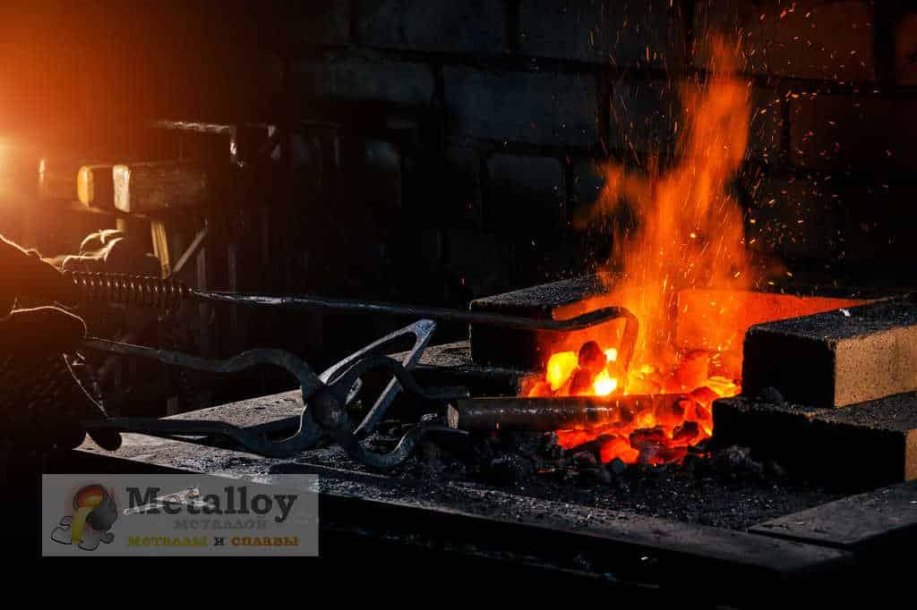Нагрев металла для ковки