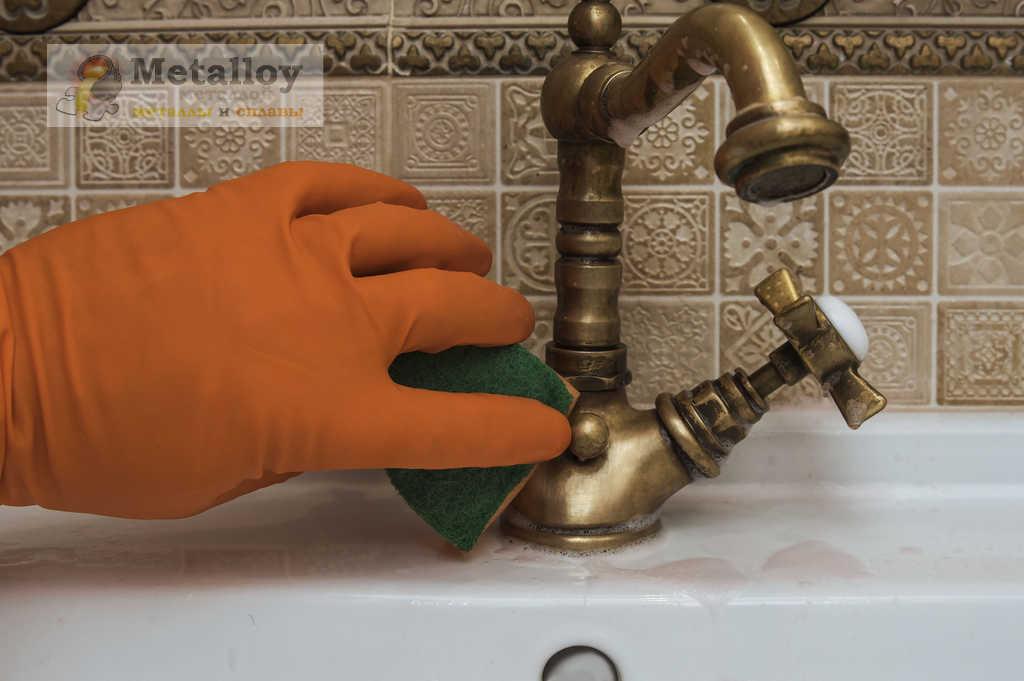 Чистка смесителя в домашних условиях