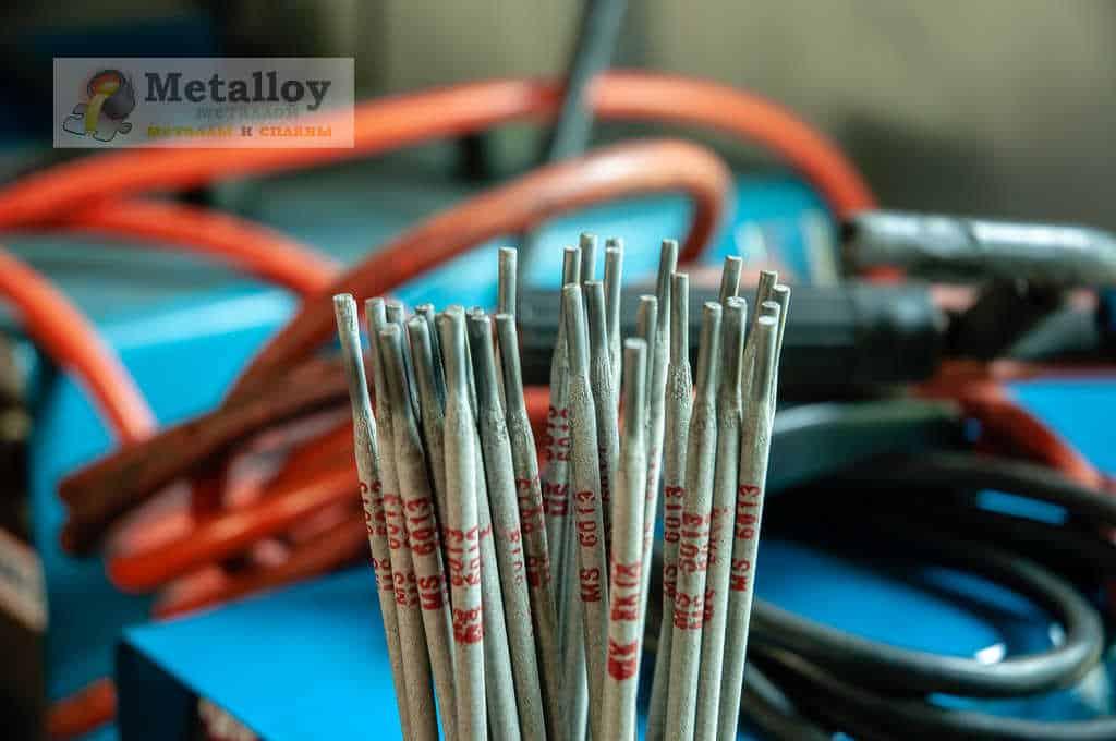 Маркированные электроды для сварки