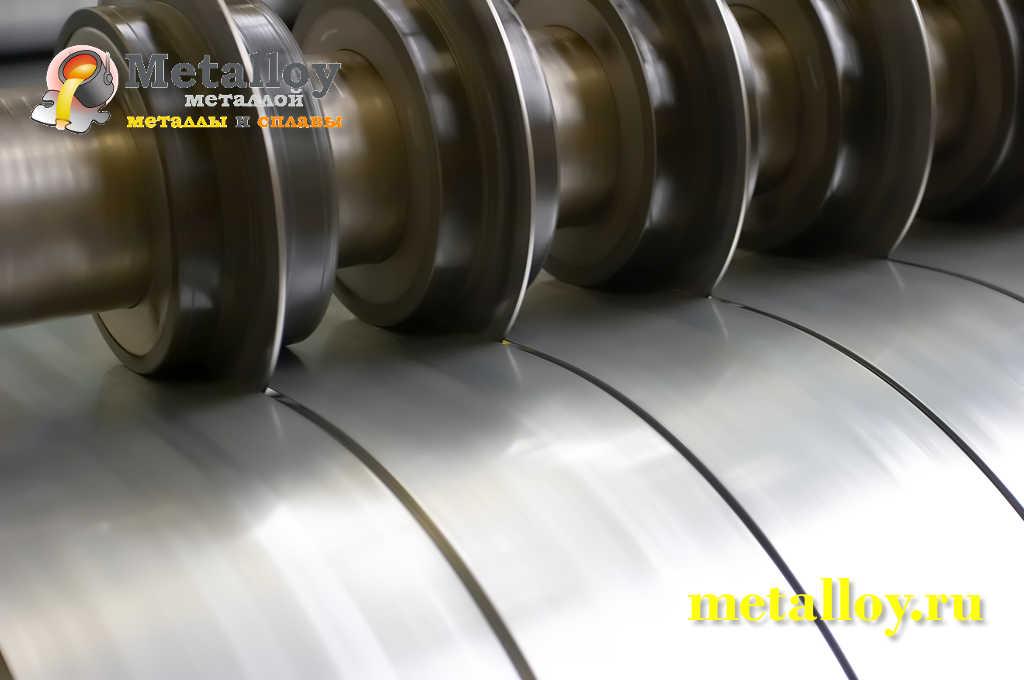 Продольная резка металлического листа