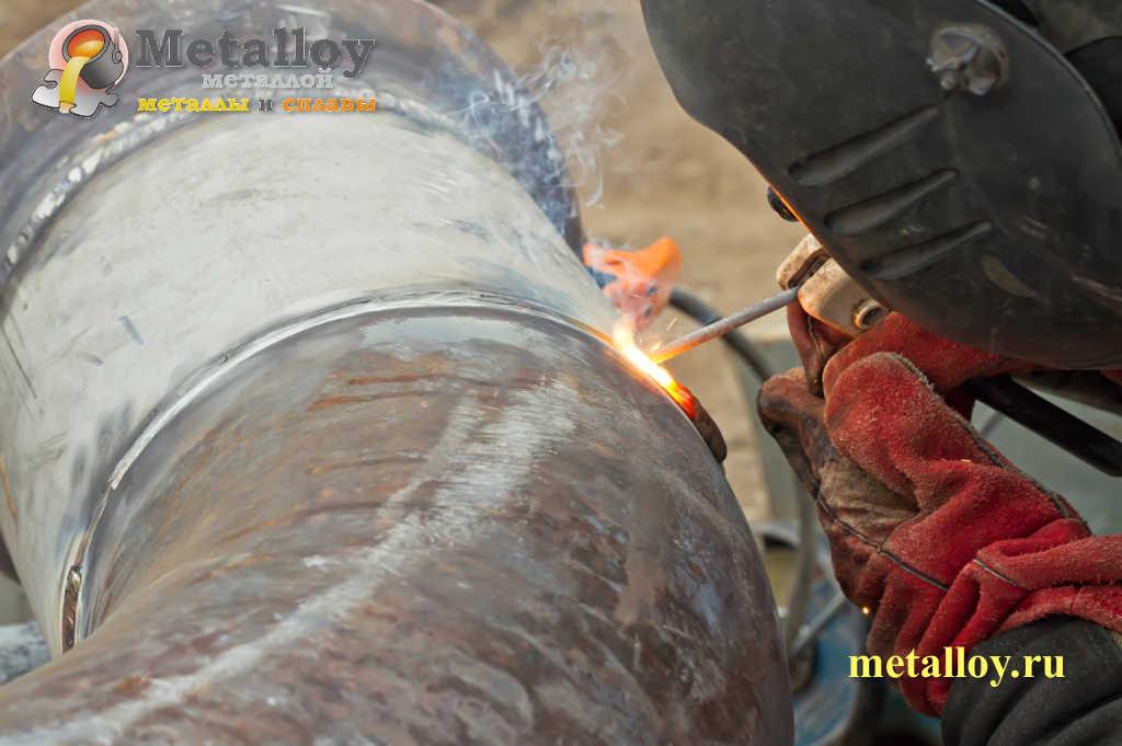 Сварка нержавейки с черным металлом