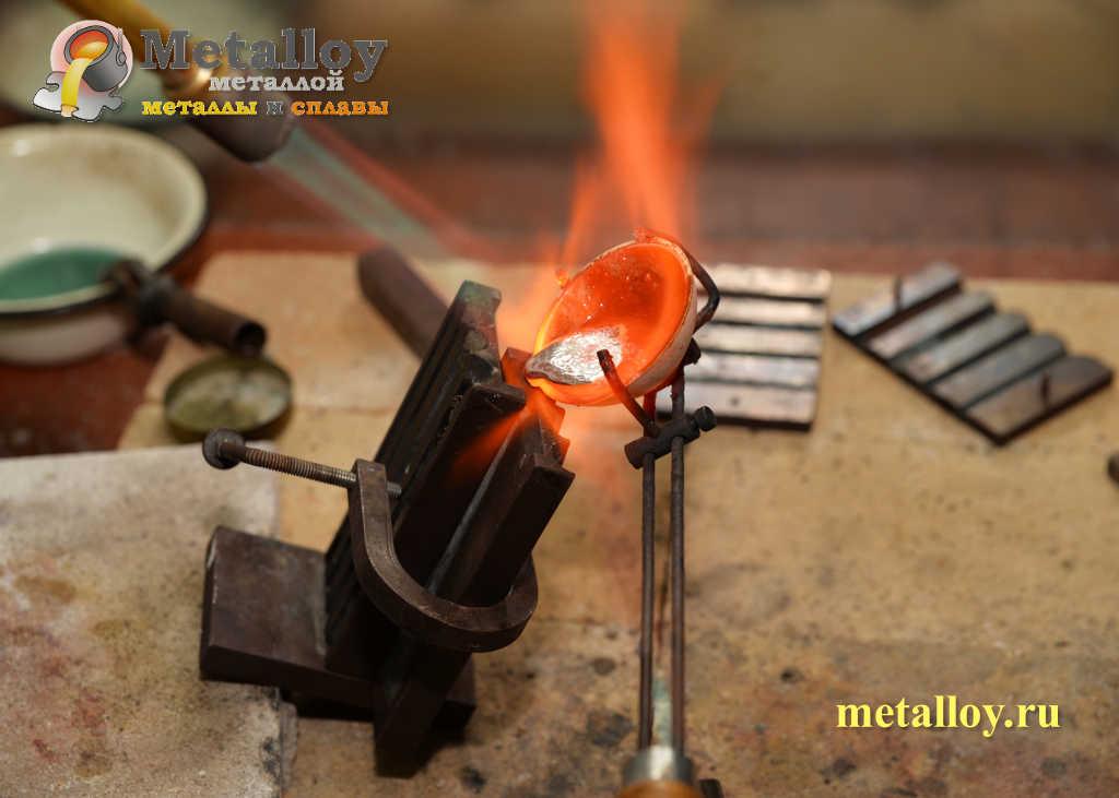 Температура плавления серебра