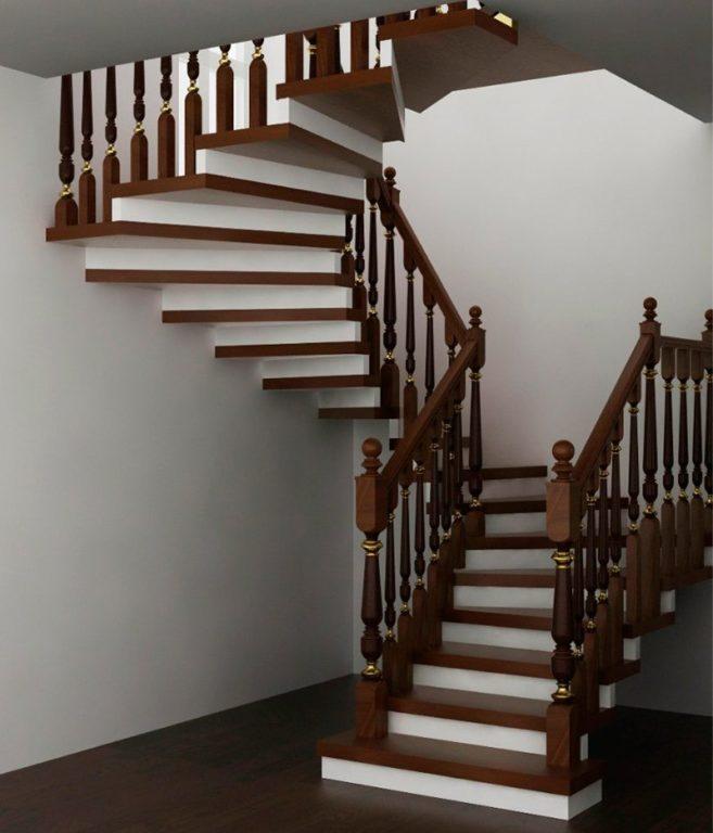 Деревянные лестницы и их основные преимущества