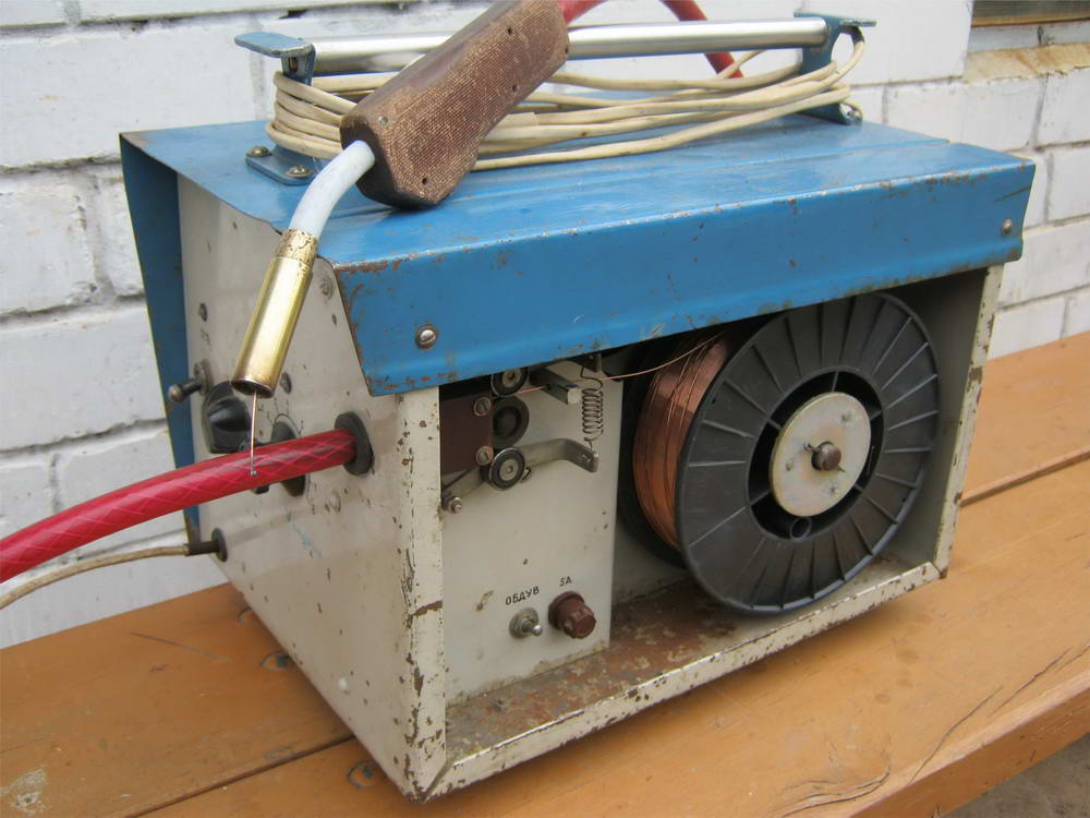 Как сделать сварочный полуавтомат самостоятельно, схема