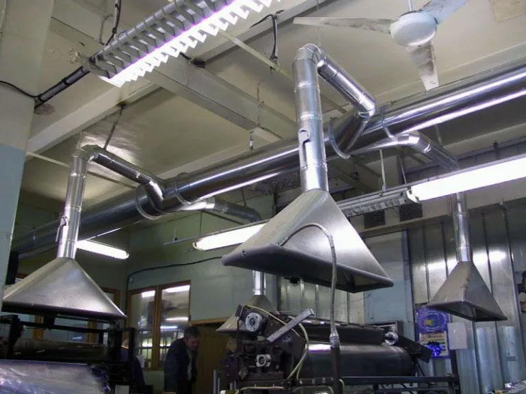 Особенности проектирования вентиляции на химическом производстве